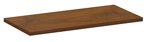 Element System 10771-01035 standaard houten plank 19 mm, verschillende lengtes, wit, beuken, eik truffel, walnoot, lariks 600x300 mm walnoot