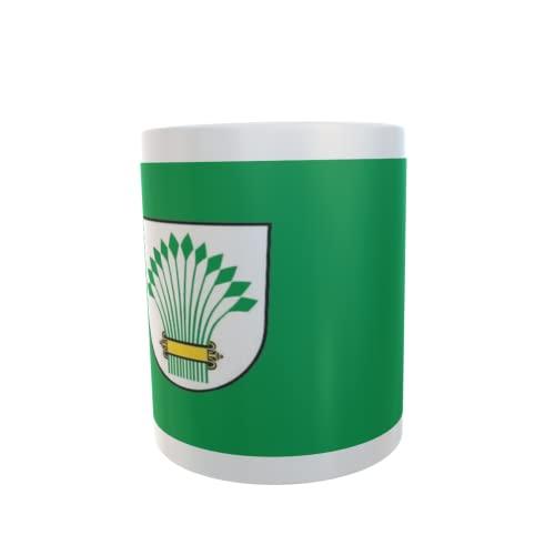 U24 Tasse Kaffeebecher Mug Cup Flagge Amt Golzow