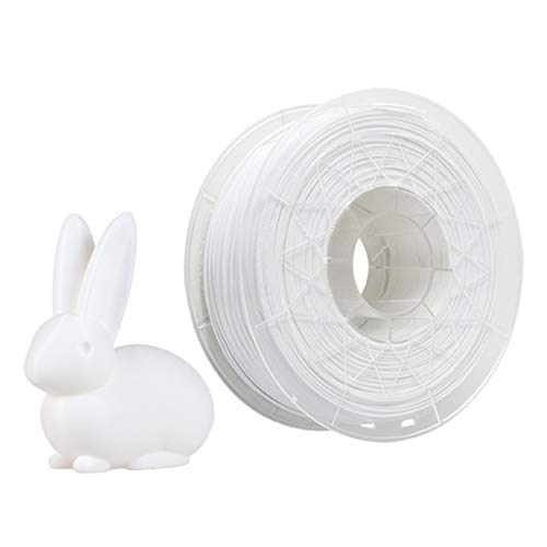 Irfora 1.75 PLA Filament, Creality Printer CR-PLA Filament 1.75mm 1kg/2.2lbs Filament Dimensional Accuracy +/- 0.02 mm, White
