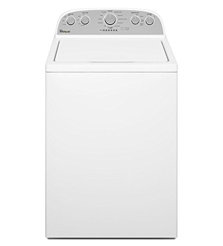Whirlpool WTW5000DW 4.3 Cu. Ft. Cabrio HE Top Load Washer with Low-Profile Impe, White