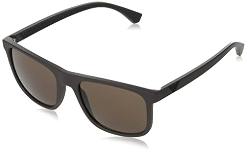 Emporio Armani Occhiali da sole EA4129 526073 occhiali Uomo colore Marrone lente marrone taglia 56 mm