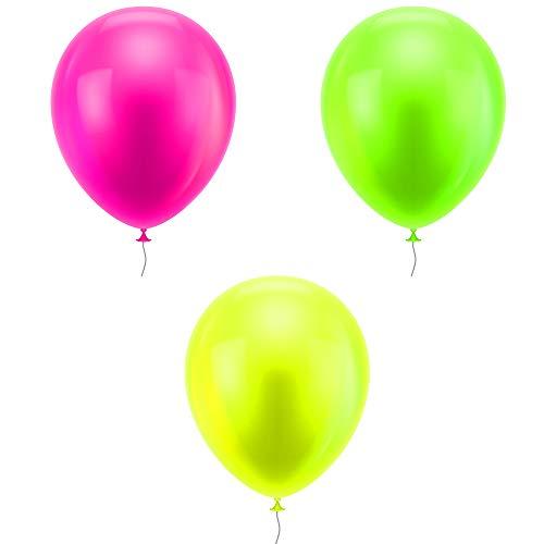 Pielno Ballons Fluo UV - Lot de 10