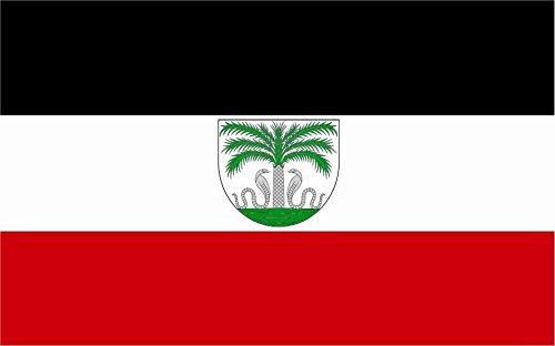 U24 Fahne Flagge Deutsch Togo 90 x 150 cm