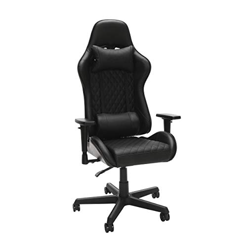 RESPAWN 100 Racing Style Gaming Chair, in Black black chair gaming