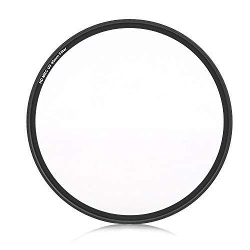 Qiilu Filtro de Lente UV, Vidrio óptico Ligero 95mm MC Accesorio de...