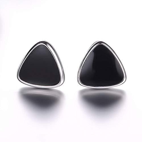 Pendientes Mujer Pendientes De Plata Triangular De Cristal De Plata De Ley 925 para Mujer Pendientes Joyas De Plata Esterlina