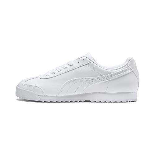 Puma Roma Basic, Herren Sneaker, Weiß(Weiß (white-light gray)), 39 EU (6 UK)