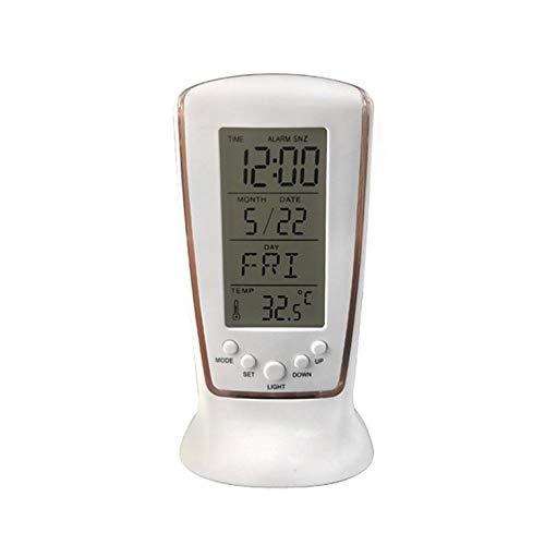 known Mini Wecker Blaulicht Abs Elektronische Komponente Thermometer Display Spiegellampe Elektronische LED Digitaler Wecker