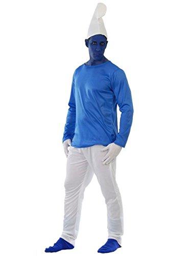 GUI - Déguisement - Homme Bonhomme bleu