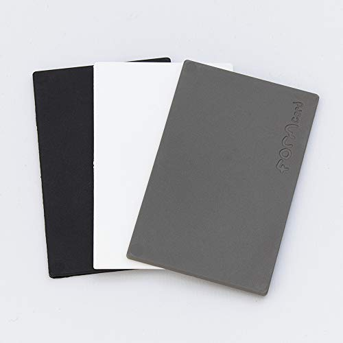 3 FORMcards in Monochrome Colours Black White and Grey