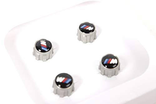 Original BMW Satz Ventilkappen BMW M 4 Teilig 1er 2er M2 3er M3 M4 5er 6er 7er X1 X3 X3 X5 X5M X6M