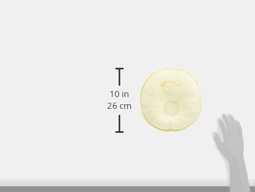 西川産業babypuffドーナツ枕(中)クリーム綿100%LMF1501302