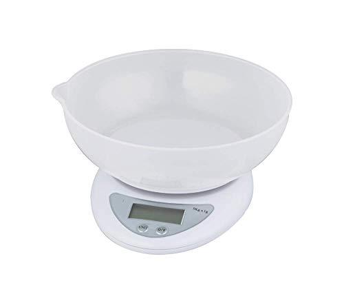 Balança Digital Para Cozinha Mede Volumes De Líquidos 5kg Sf-420 Tomate