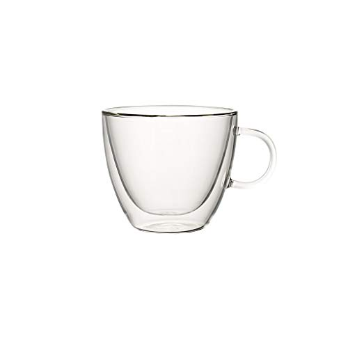 Villeroy & Boch Artesano Hot&Cold Beverages Tazas de té, 0.42 litros, medido hasta el borde, Vidrio borosilicatado