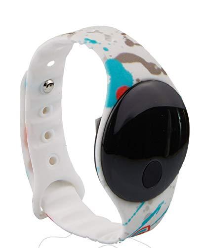 Seven Digital-Armbanduhr, Weiß