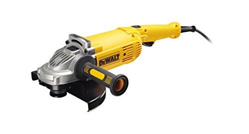 Dewalt DWE492-QS Amoladora, 2200 W, 230 V, Negro y amarillo