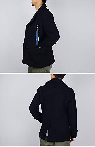 junhashimoto(ジュンハシモト)×ショットjunhashimoto×SchottジップコートZIPCOAT1011920017Pコート3,ブラック(BLK)