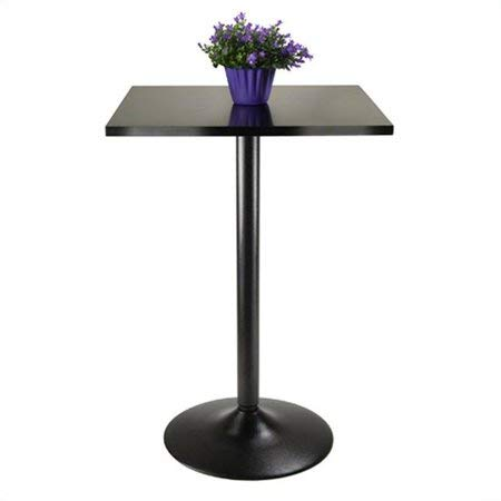 Winsome Cora Dining, Black/Faux Marble