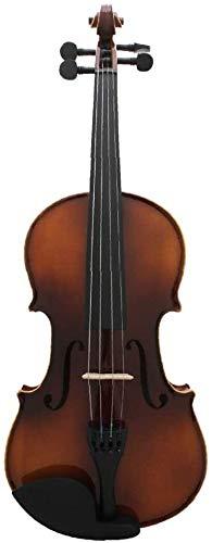 ZYF Violines Noche Color Natural Lado Blanco Lado Violín Examen de desempeño Profesional 4/4 Violin Triángulo Caja de Tela Maple (Size : 1/2)
