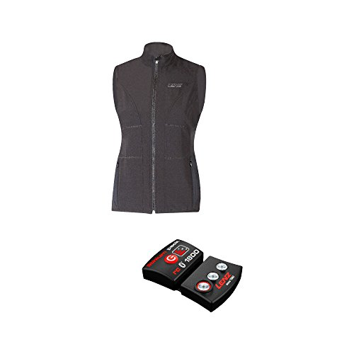 Lenz Herren Heizweste Lithium Pack RCB 1800 Set of Heat Vest 1.0 Mann, Schwarz, XL