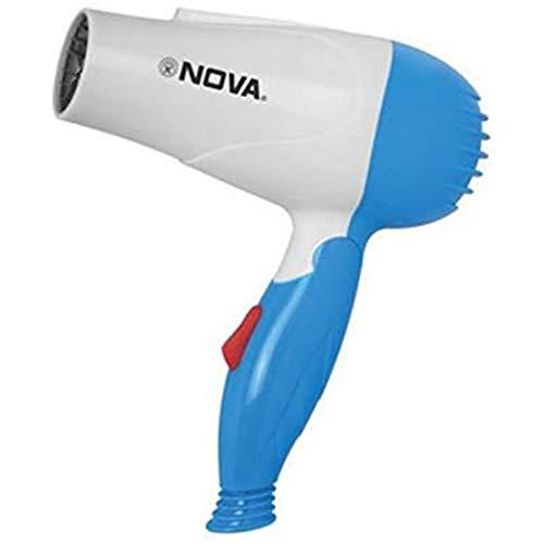 Nova Manswini Creation Nova 1290 Professional Electric Foldable Hair Dryer With 2...