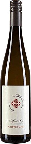 Goldriesling trocken 2018 - Rothes Gut Meissen Tim Strasser   trockener Weißwein   deutscher Wein aus Sachsen   1 x 0,75 Liter