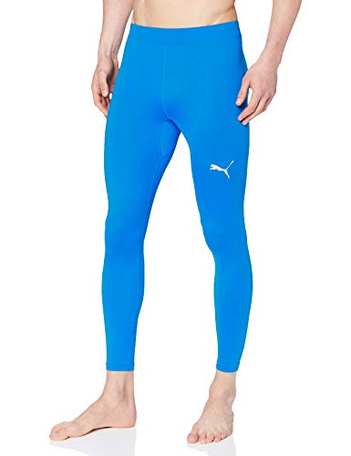 PUMA Liga Baselayer Long Tight Pants, Hombre, Electric Blue Lemonade, M