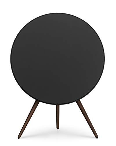 Bang & Olufsen Beoplay A9 4th Gen Wireless Multiroom Speaker, Black with Walnut Legs