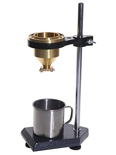 GLTL Paint-4 Liquid Viscosity Test Tool w/Viscometer Flow Cup Viscometer Ford Cup 4# Flow Viscosity Cup Liquid Flow Meter Liquid Viscosity Tester with Base