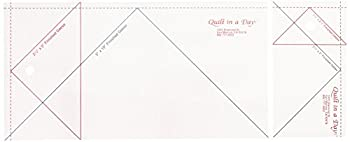 Quilt in a Day Jumbo Flying Geese Quilting Ruler 2 ruler set