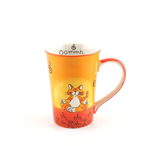 Mila Keramik-Teebecher, Oommh Katze   MI-81038   4045303810389