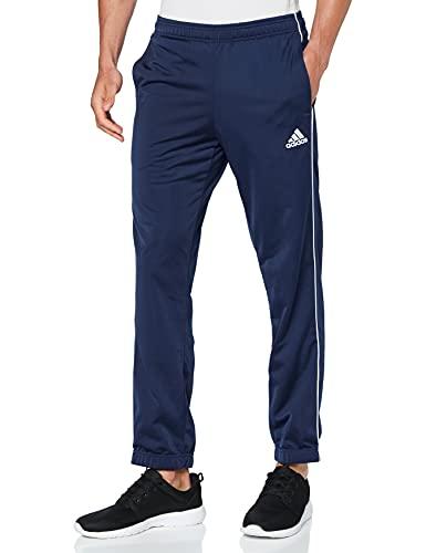 adidas Herren Trainingshose Core 18, Dark Blue/White, XL, CV3585