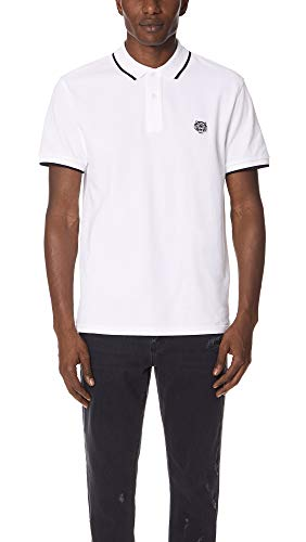 Kenzo Herren Poloshirt Regular Fit Kurzarm weiss (10) L