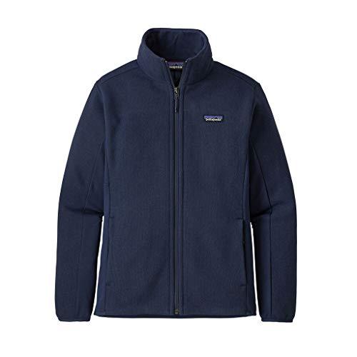 Patagonia Damen W's Lw Better Sweater JKT Weste, Blau (New Navy), M