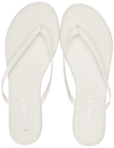 Esprit Damen PARTY Flipflop, weiß, 39 EU