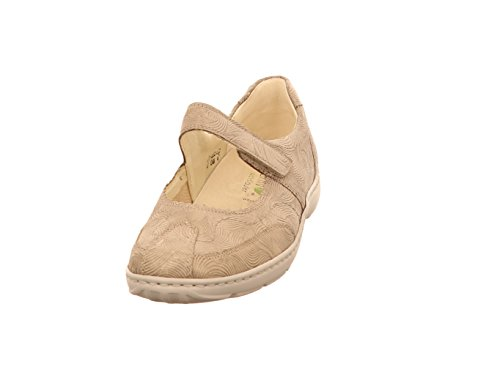 Waldläufer Damen Slipper Henni 496302 196 230 beige 385068
