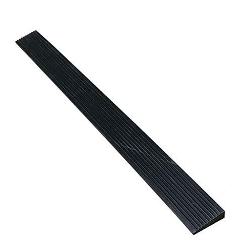 Triangle Slope Pad, robuste, langlebige Auto-Rampen rutschfeste Parkrampen aus Gummi Auto-Garagen-Auffahrrampen (Size : 100 * 8 * 2CM)