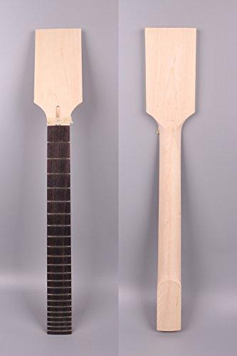 Yinfente Ersatz-Kopfplatte für E-Gitarre, unlackiert, 22 Bünde, für LP ST E-Gitarre, Ersatz-Paddel-Kopfplatte aus Palisanderholz, Griffbrett von Yinfente