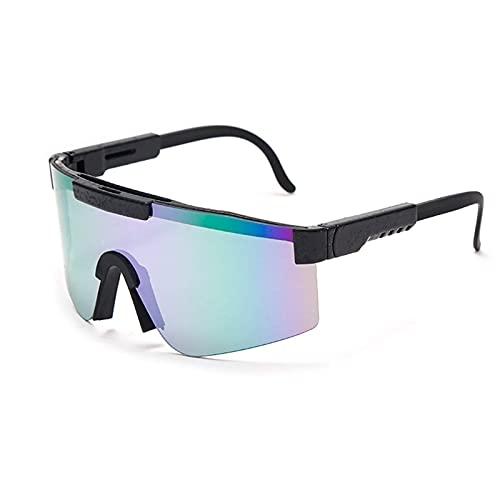 SNCAIZG Gafas de Sol Deportivas polarizadas para Hombres y Mujeres, Pit -Vipers Gafas de Ciclismo polarizadas Golf (Color : C5, Tamaño : 5.4in x4.4in x2.3in)