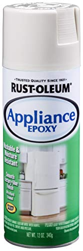 Rust-Oleum 210372 Enamel 12-Ounce Spray, Biscuit Appliance Epoxy, 12 oz