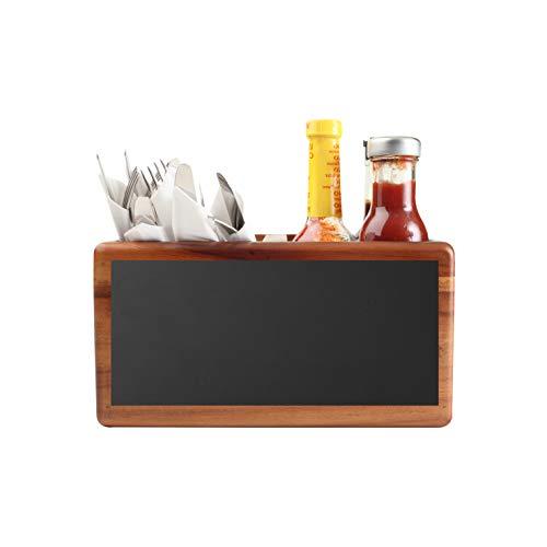 T & G Woodware Food Glorious Table, portaoggetti per la tavola, in acacia