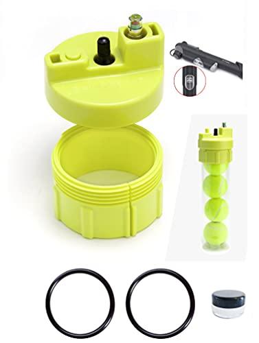 Ball Rescuer – Convierte envases de pelotas de pádel o tenis en un Bote Presurizador de 30 psi – Adaptable a envases de tres o cuatro bolas (envase no incluido).