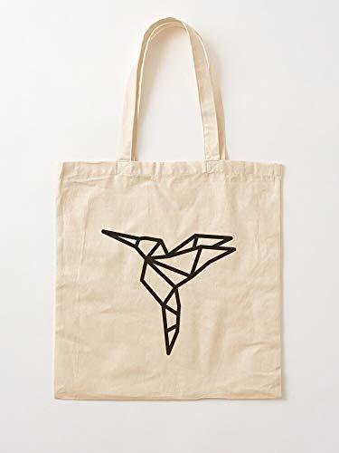 Bolsa de lona con asas, de algodón duradero