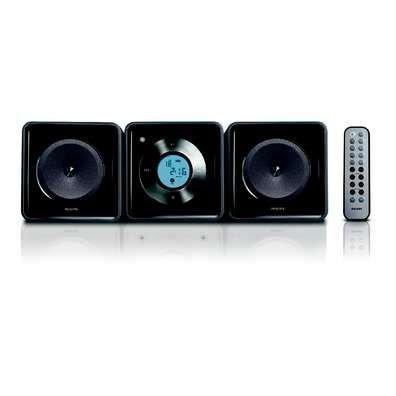 Philips MCM 108 Kompaktanlage mit CD schwarz