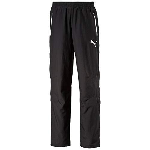 Puma Herren Hose Leisure Pants Black-White, M