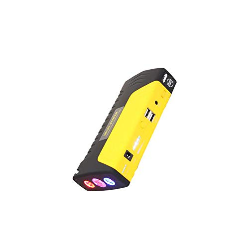 Buy HeavenSense 68800Mah Yellow Leather Bag Packaging Car Power Supply Emergency Jump Starter Energy...