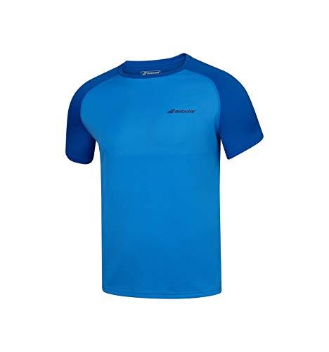Babolat Junior Play - Camiseta para niño (2020), color azul, color azul, tamaño XS-6/8A