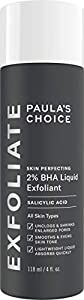 Paula's Choice Skin Perfecting 2% BHA Liquid Exfoliant - Salicylic Acid Exfoliator Peeling for Face - Blackhead, Whitehead & Blemish Remover - Combination, Oily & Acne Prone Skin - Travel size 30 ml