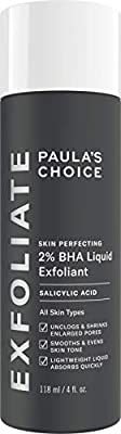 Paula's Choice Skin Perfecting 2% BHA Liquid Exfoliant - Salicylic Acid Exfoliator Peeling for Face - Blackhead, Whitehead & Blemish Remover - Combination, Oily & Acne Prone Skin - 118 ml