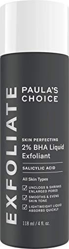 Paula's Choice Skin Perfecting 2% BHA Lotion Exfoliant - Peeling Visage Élimine les Points Noirs,...